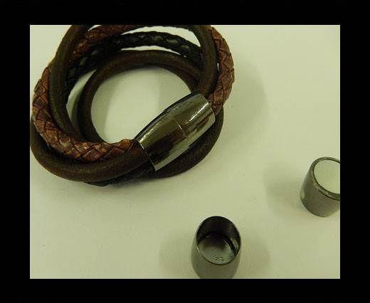 Zamak magnetic clasp MGL-8-10MM-BLACK