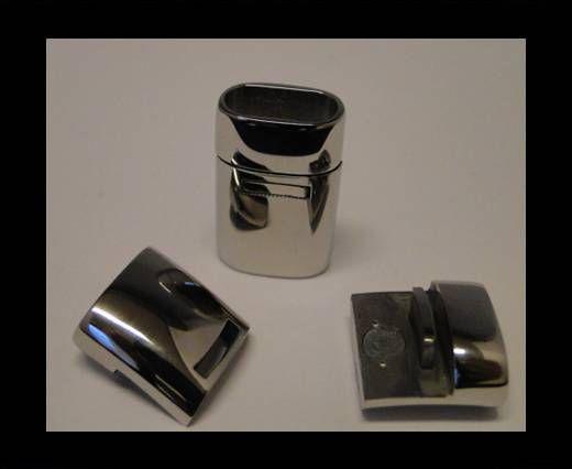 Fermoir inoxydable - MGST 57 - 12*6mm