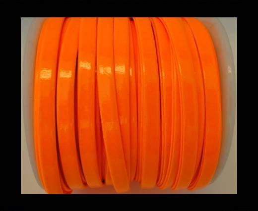 Nappa Flat PU -Neon Orange-5mm