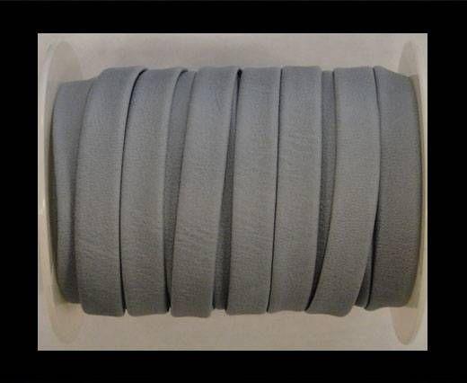 Cuir plat nappa éco - 10mm - Gris