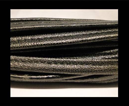 Cuir Nappa - Sewn - 7mm - Noir