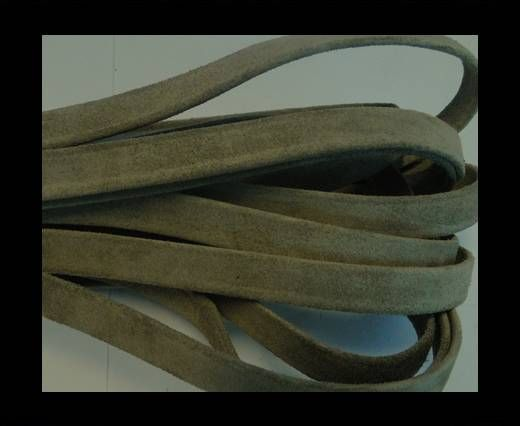 NappaFlat-Suede-Olive Green-10mm