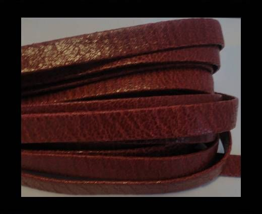 NappaFlat-Vintage Red-10mm