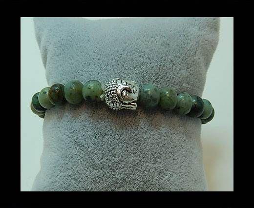 Natural Stone Bracelet 8 Africain Turquoise