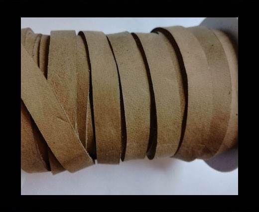 Nubuck Flat - 5mm - LIGHT BROWN