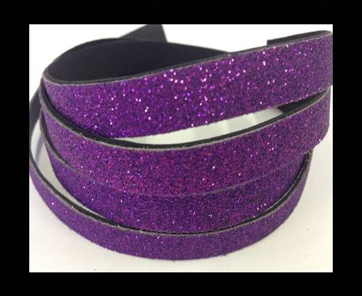 Real Nappa Leather - SE-FNG-18-Glitter Style -10mm