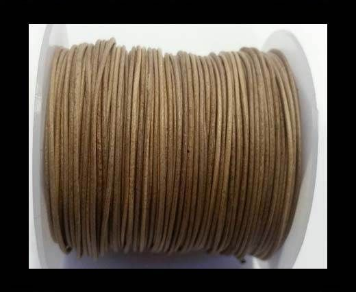 Round Leather Cord -1mm- SE Vintage Taupe