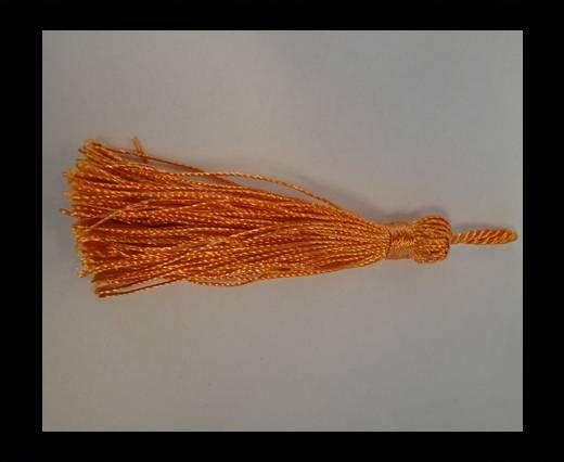 Pampille en satin - Orange