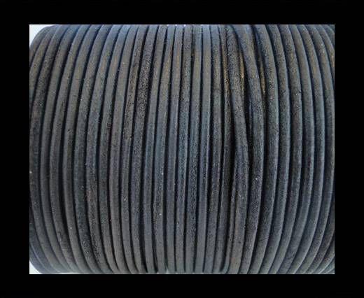Cordon Cuir Rond SE/R/Vintage Marron - 1,5mm
