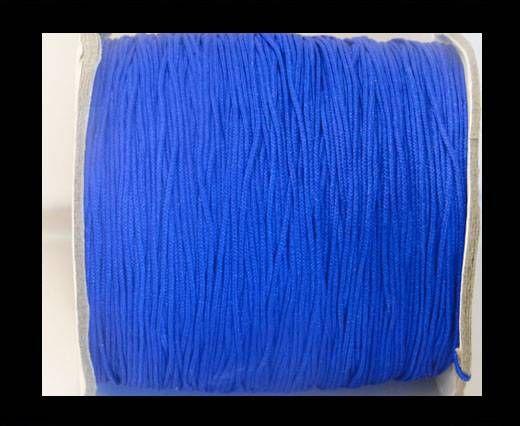 Corde Shamballa - 1mm - Bleu foncé