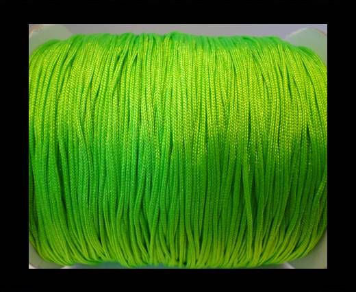 Corde Shamballa - 1mm - Vert fluo