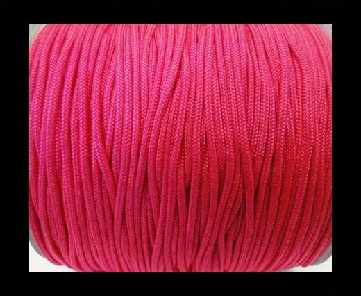 Corde Shamballa - 1mm - Rose fluo