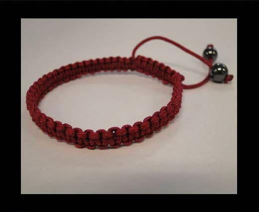 Bracelet simple Shamballa SB - Violet