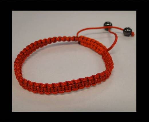 Bracelet simple Shamballa SB - Rouge