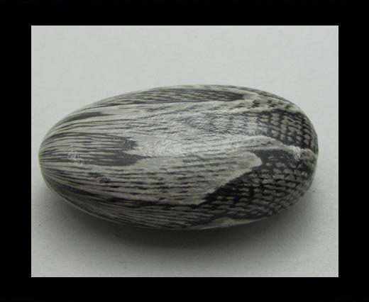 Snake Wooden Beads NSSB-11
