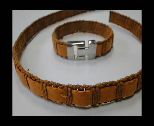 Special Real Touch Eco Leather-14mm-Orange