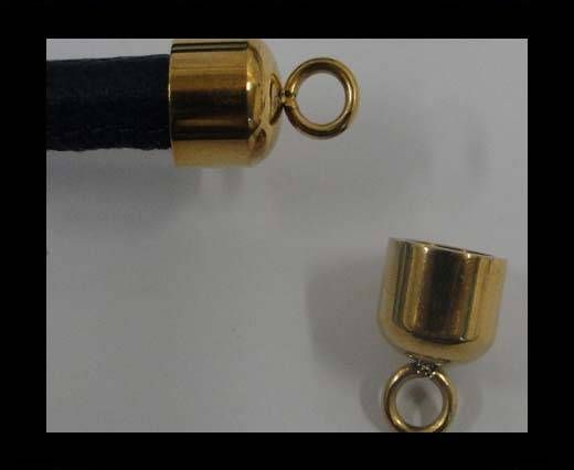 SSP-585-6MM-Gold-Stainless Steel Parts and Findings
