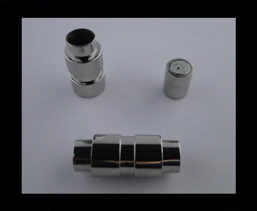 Fermoir magnétique inoxydable - MGST 18 - 3mm