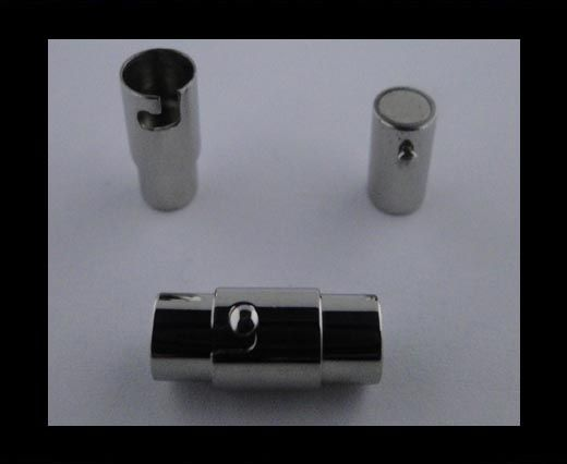 Fermoir magnétique inoxydable - MGST 22 - 3mm