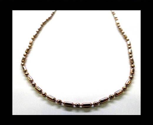 Steel Chain Item 33 Rose Gold - ready chain