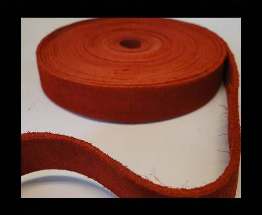 Suede Cords-15mm-SE-CS-04-Red