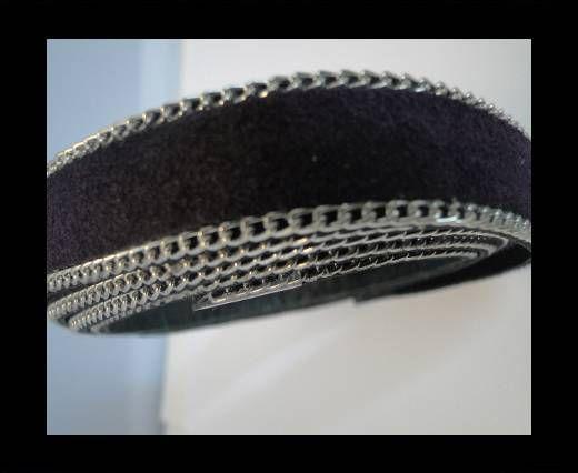 Suede Leather - Violet