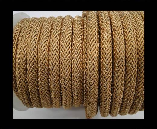 Swift Braided Cord without inner-6mm-Dark Beige