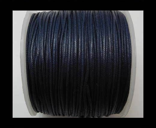 Wax Cotton Cords - 0,5mm - Navy Blue