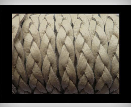 Buy 6mm-Flat Braided-Ivory at wholesale price
