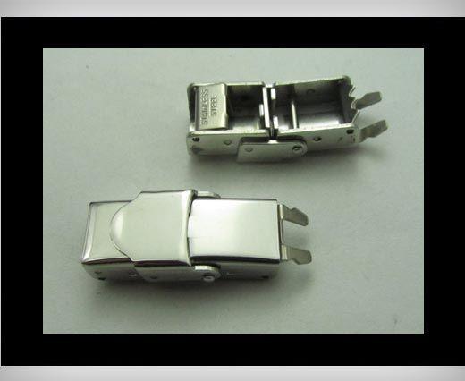 Edelstahl Magnetverschluss-MGST-13-8mm