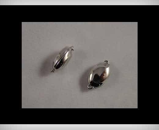 925 Sterling Silber Magnetverschluss SSMG-08