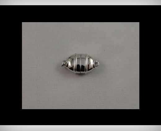 925 Sterling Silber Magnetverschluss SSMG-11