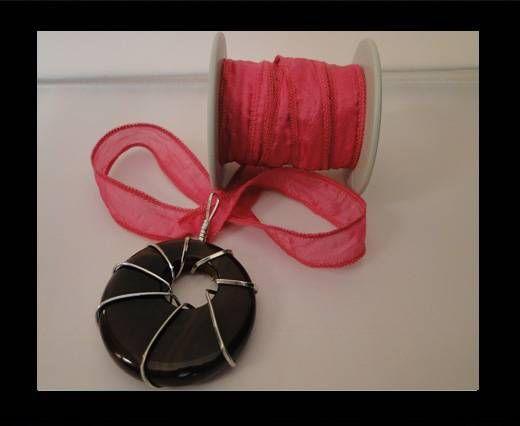 SC-Seidenband-leuchtendes Pink