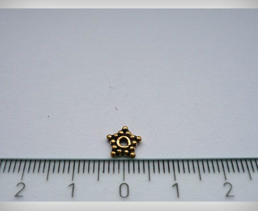 SE-1783-Antique Gold Small Sized Beads