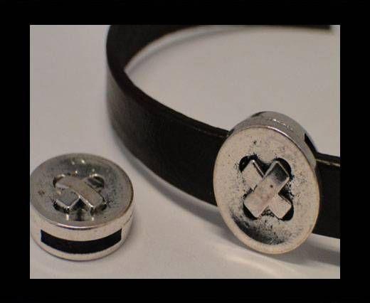 CA-3525-Zamac Teile für Leder