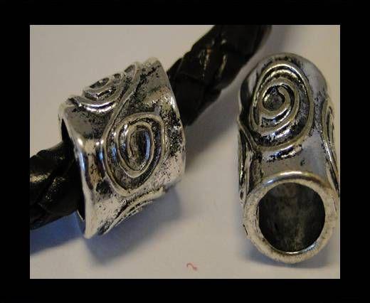 CA-3587-Zamac Teile für Leder
