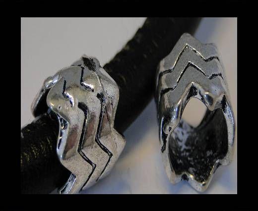 CA-3603-Zamac Teile für Leder