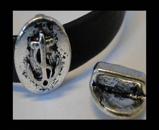 CA-3619-Zamac Teile für Leder