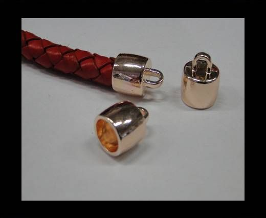 CA-4694-Rose gold-Zamac parts for leather