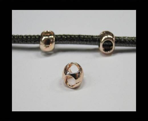 CA-4707-Rose gold-Zamac parts for leather