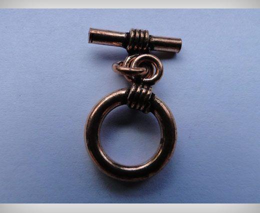 Copper Toggles (Closures, S-Hooks etc) SE-1757