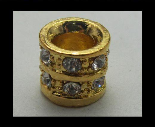 Crystal Big Hole Beads CA-4155