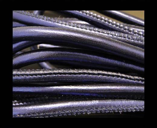 Feines Nappa Leder-4mm-Indigo