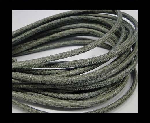 Fine Nappa-Lizard-Style -Salvia-4mm