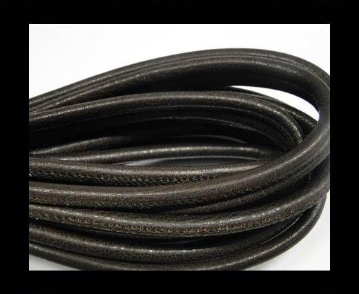 Fine Nappa-Plain-Style-Dark brown -6mm