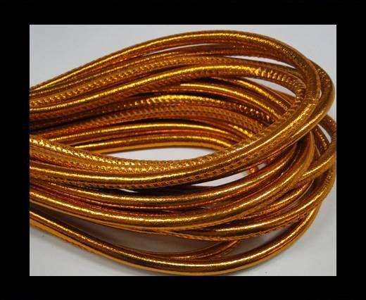 Fine Nappa-Plain-Style-Metallic orange-6mm
