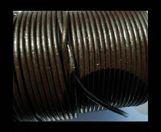 Fine Nappa-Plain Style-SE R 03 Dark Brown-6mm