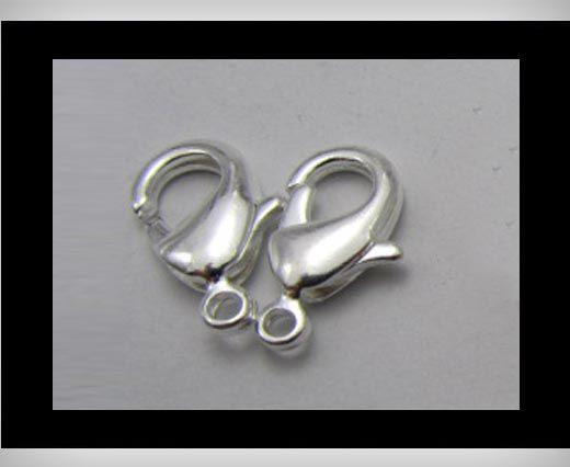 Fish Locks FI-7001-Silber-18mm