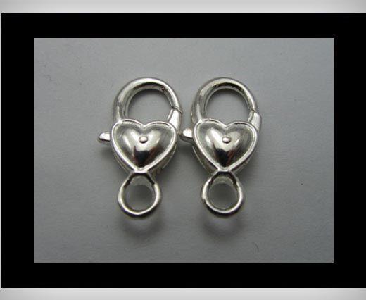Fish Locks FI-7002-Silber-28mm