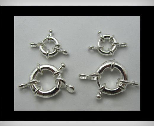 Fish Locks FI-7007-Silber-11mm